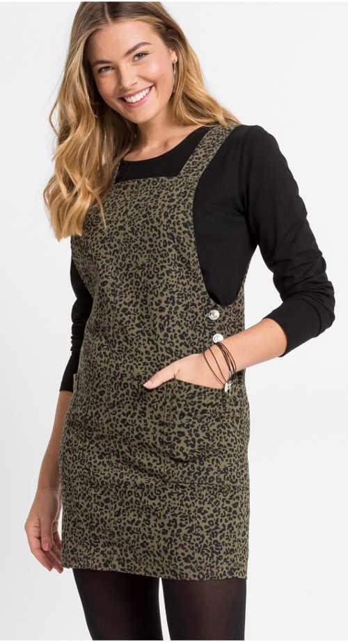 Leopárd mintás ruha