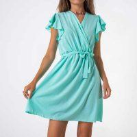 Női rövid, légies ruha lenyűgöző szabásban és színben