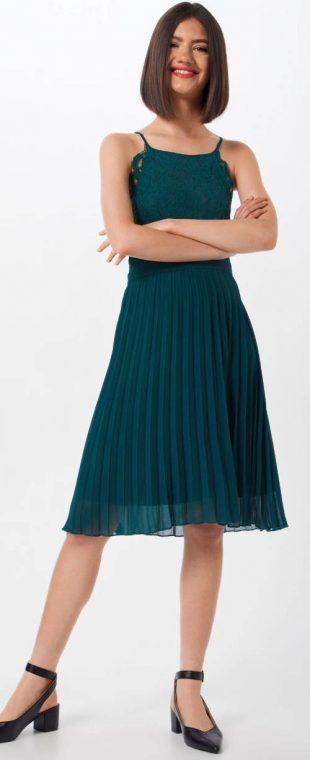 Nyári formális ruha rakott szoknyával