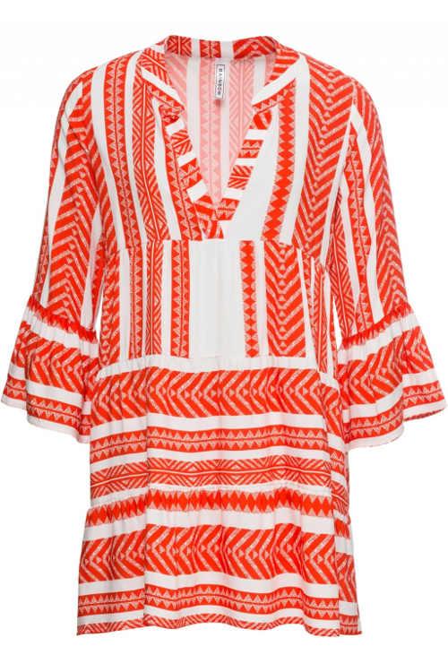 Gyönyörű könnyű nyári női ruha