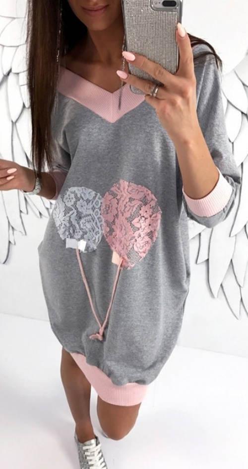 Kényelmes ballonos ruhák terhes nőknek